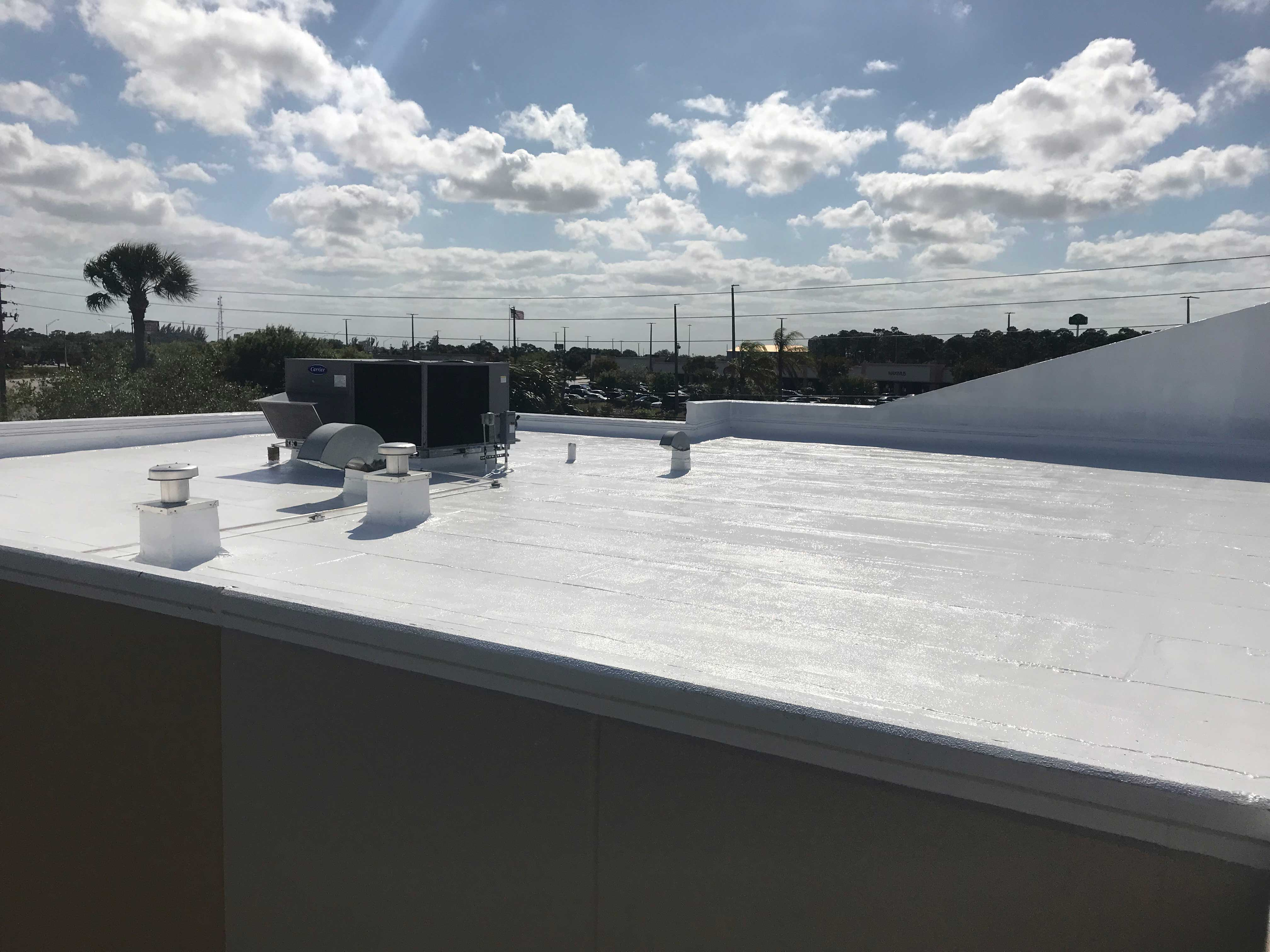 Naples Fl Spray Foam And Silicone Commercial Roofing