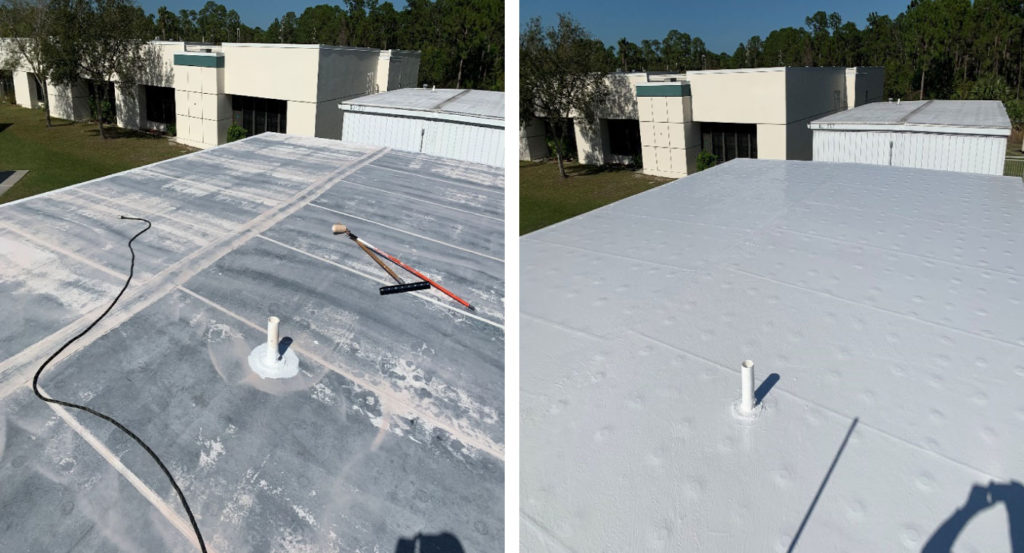 Foam Roofing Contractors Near Me Us Coating Specialists Llc